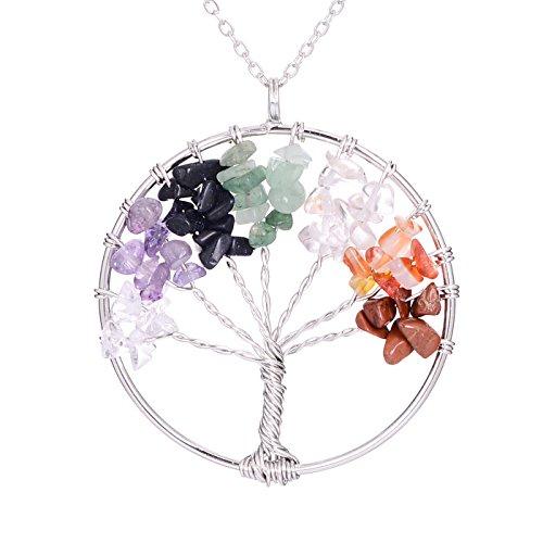 Sedmart Pendant Necklace Gemstone Jewelry