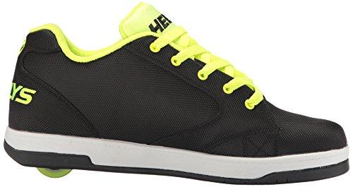 Heelys Mens Driva 2,0 Mode Sneaker Svart / Ljus Gul / Ballistisk