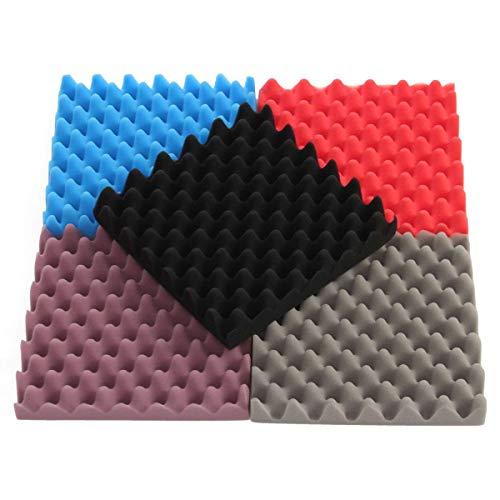 JohnnyBui - 300X300X50mm Sponge Anti Static Pin Insertion High Density Foam Soundproofing Foam Sound-Absorbing Noise Sponge Foams