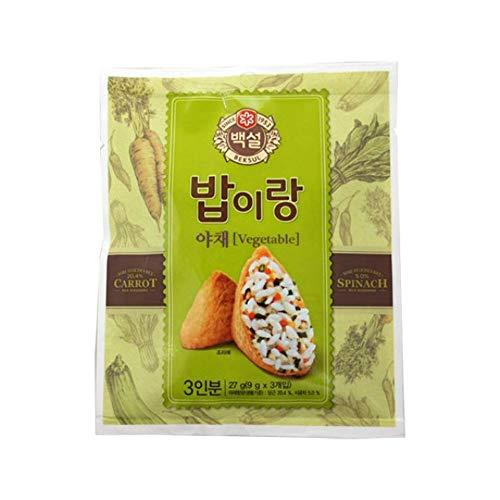 CJ Beksul Rice Furikake (Vegetables) 9g x 3 (27g)