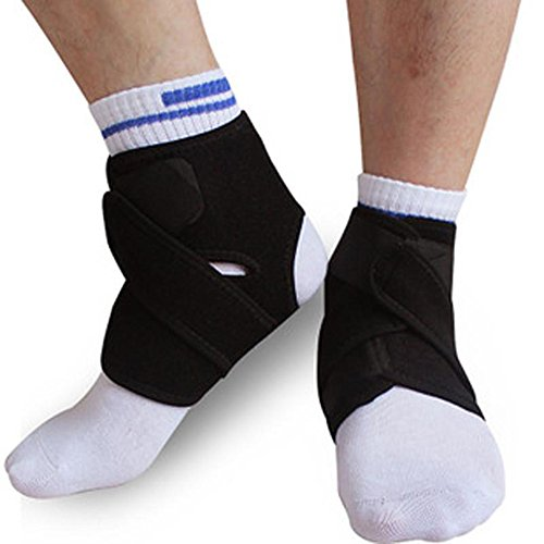 Ezyoutdoor 2 pieces Ankle Genie Compression Support Sport Protective Ankle Brace for Outdoor Sports Training Exercise Gym basketball - Usps Tracking Canada