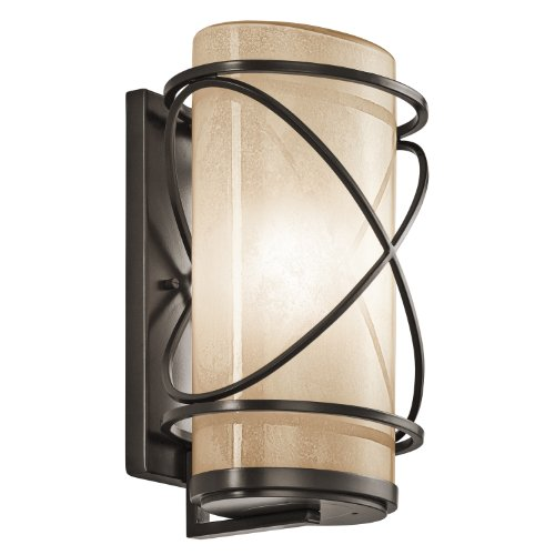 Kichler Architectural Bronze 10 High Outdoor Wall Light