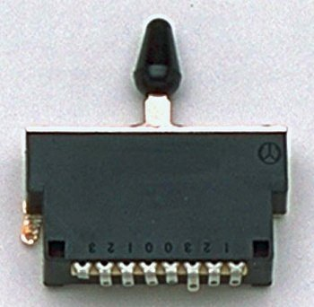 Allparts EP-0476-000 Plastic 5-Way Switch for Imports 5 Way Strat Switch