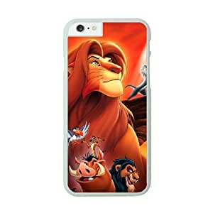 Lion King iPhone 6 White Cell Phone Case GSZWLW1459 Phone Case Sports