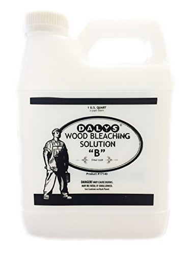 (Daly's Wood Bleach Solution, Solution B, 1 Quart)