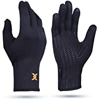 Thx4 Copper Infused Compression Winter Thermal Gloves, Touch Screen Full Finger Warm Glove for Writing, Texting, Cycling…