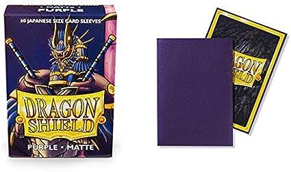50 Count Card Supplies Dragon Shield Purple Small Card Sleeves