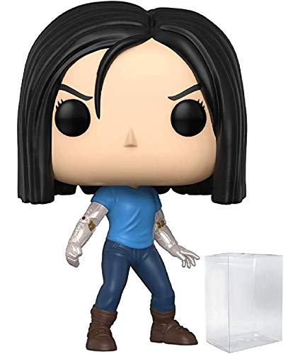 Funko Alita Battle Angel - Alita Doll Body Pop! Vinyl Figure (Includes Compatible Pop Box Protector Case)