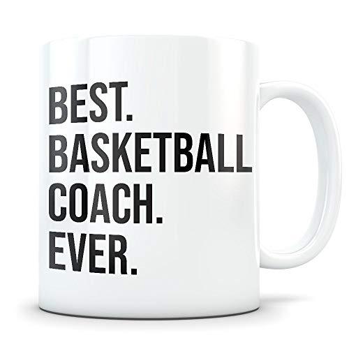 (Mug Creatory - Basketball coach gift, basketball coach mug, basketball coach thank you, best basketball coach, basketball coach coffee mug, bball coach, Coffee Mug 11oz)
