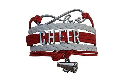 Infinity Collection Cheer Bracelet- Cheerleading Bracelet- Cheer Jewelry for Cheerleader -