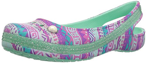 Pictures of Crocs Kids' Genna II Graphic Sparkle Sling- 1