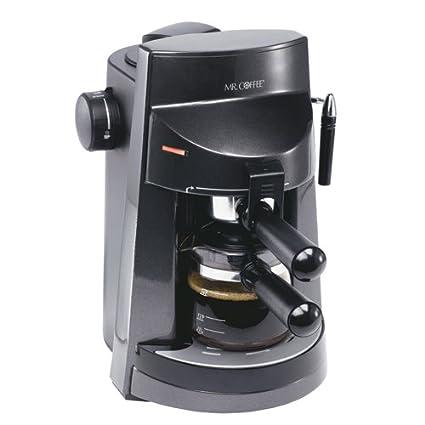 Amazon Mr Coffee Ecm250 4 Cup Espressocappuccino Maker