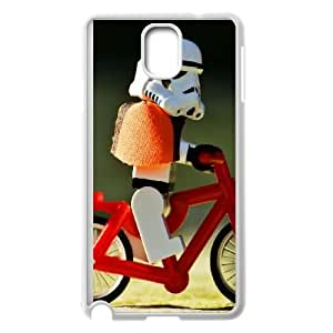 Funny Biker Samsung Galaxy Note 3 Cell Phone Case White Delicate gift JIS_376242