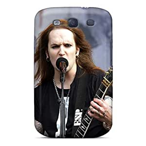 Best Hard Cell-phone Case For Samsung Galaxy S3 With Allow Personal Design Fashion Children Of Bodom Band Image CristinaKlengenberg