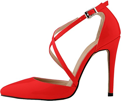 5 Rouge 36 Femme Nice Red Find Compensées Sandales wn0F1xqa