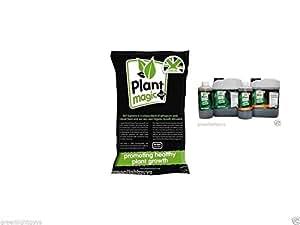 Planta mágica suelo laptone 50 litros bolsa y suelo floración 1 litro de agua dura y suelo crecer 1 litro agua dura