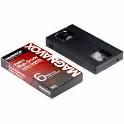 Magnavox Accessories #MHG120 Single T120 Video Cassette