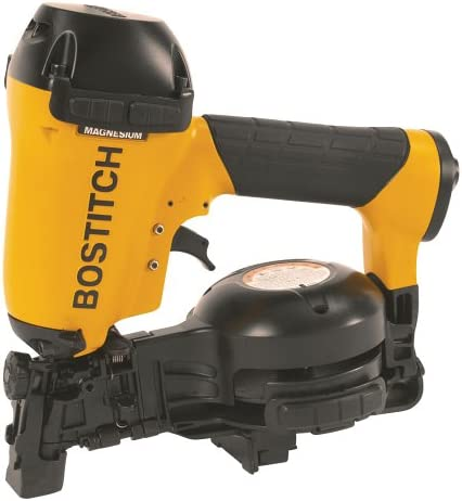 BOSTITCH U RN46-1 3 4-Inch to 1-3 4-Inch Coil Roofing Nailer Renewed