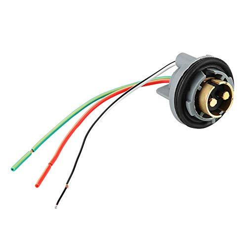 Turn Signal Light Wiring Harness, 1157 Turn Signal Light Extension Wiring Harness Female Sockets Connector Adapter:
