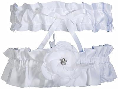 Ivy Lane Design Somerset Collection Garter Set, White