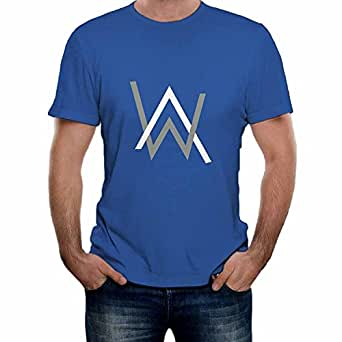 d5a248052 Amazon.com: Sun-Tshirt Tshirt Alan Walker Logo For Man: Clothing