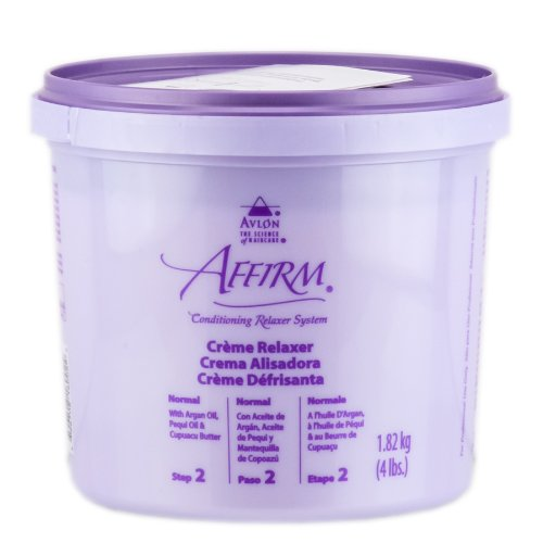 Conditioning Creme Relaxer System - Avlon Affirm Creme Relaxer Original Formula Normal 4 lbs.