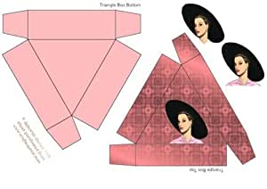 Elegante Triángulo Caja de regalo por Deborah Davies