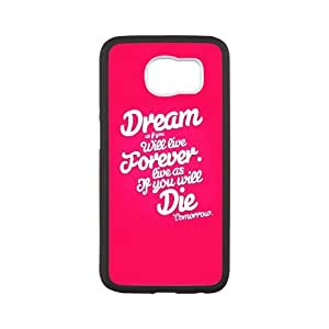 Samsung Galaxy S6 Phone Case With Quotes U2H24321