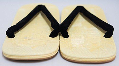 Sandali 26 Setta Storico Design Thongs autentici Zori Nero 5 centimetri uomini q4Fn4Twx