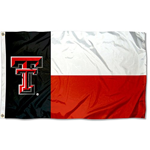 College Flags and Banners Co. Texas Tech Red Raiders Texas State Flag