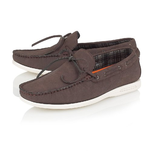CASUAL SLIP MOCCASIN 11 BOAT MENS IN UK 6 AVAILABLE ON DECK SIZES Brown SHOES dwxX7Xqp65