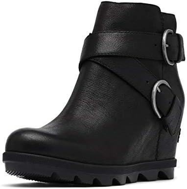 Sorel Women's Joan of Arctic Wedge II Buckle Boot - Light Rain - Waterproof