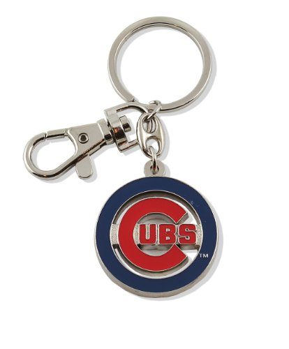 aminco MLB Chicago Cubs Team Logo Heavyweight Key Ring