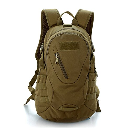 LEMONBEST 20L WARGAME Outdoor Backpack Traveling Exploration Backpack Daypack Brown