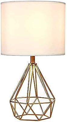 Wankd - Mini lámpara de mesa vintage, lámpara de mesa DIY, moderna ...