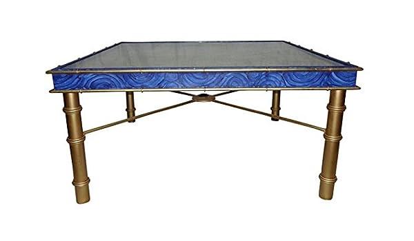 Intelligent Design Lapis Sapphire - Mesa de café Cuadrada, Color Azul: Amazon.es: Juguetes y juegos