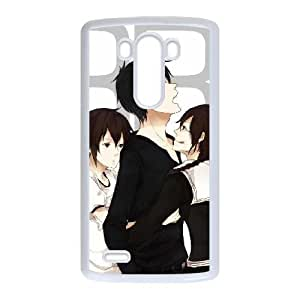 Plastic Durable Cover Mhfux LG G3 Cell Phone Case White DuRaRaRa Durable Phone Case