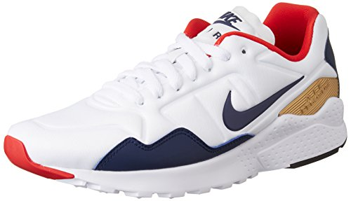 metallic Blanco da Corsa Zoom Midnight Nike Uomo Scarpe Air Pegasus White 92 Gold Navy TqwTgx87U