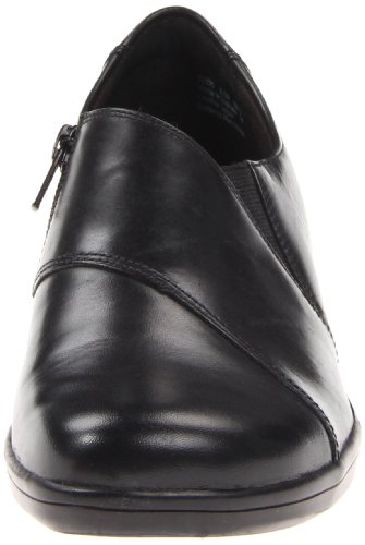 Clarks Womens May Orchid Mocassino Nero