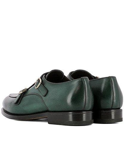 Venta de calidad superior en línea Hombres Santoni Mcc016036pc2ngtrv57 Zapatos De Cuero Verde Monje Precio barato falso Comprar oferta barata Precio bajo de venta Outlet Manchester EoMHjA6tC0