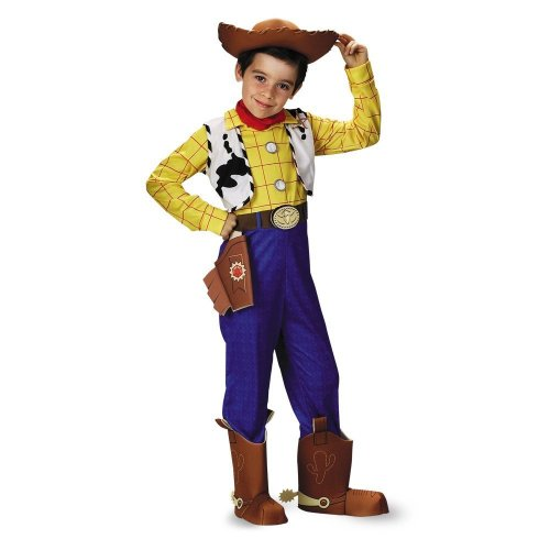 Woody Halloween Costume (Woody Deluxe Child - Size: Child S(4-6))