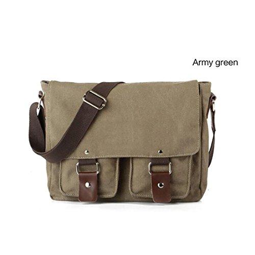 Koola's Bag - Bolso al hombro para hombre, marrón (Marrón) - 1BB000003BXM000000 verde