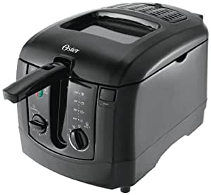 Amazon.com: Oster CKSTDFZM55 3-Liter Cool Touch Deep Fryer