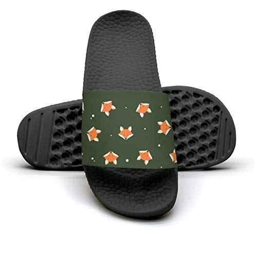 Slides Logo Fox Fox Flop Slip Outdoor Fashionable Flip Non Cute Sandals Cute Womens Logo House XOaU6