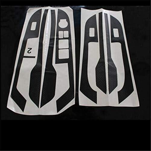 "Car carbon fiber car stickers door panel armrest sticker,auto accessories for KIA Rio k2 - (Color Name: Black)"": Amazon.com.au: Home Improvement"