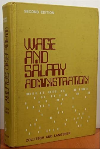 Wage And Salary Administration Book
