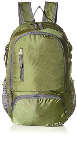 OneTrail Packable Hiking Daypack (Olive Green) | Ultralight Design | Unisex | Machine Washable