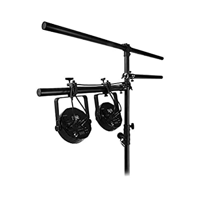 On-Stage LTA4770 Lighting Clamp with Cable Management System for Lighting/Speaker Stands (Pair) by Music People
