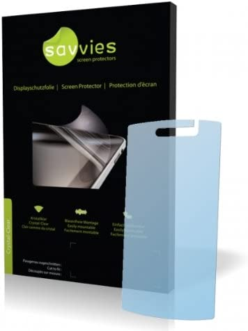 Protective Film 100/% fits Savvies Crystalclear Screen Protector for LG Electronics GD900 Crystal Display Protection Film