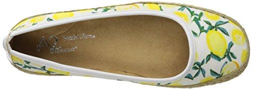 Solide Tissu De Par Aerosoles A2 Chaussure Roche Combo Féminin Blanc wn8nHTXq